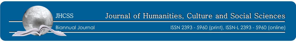 Journal of Humanities, Culture and Social Sciences